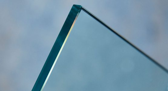 Clear toughened safety glass
