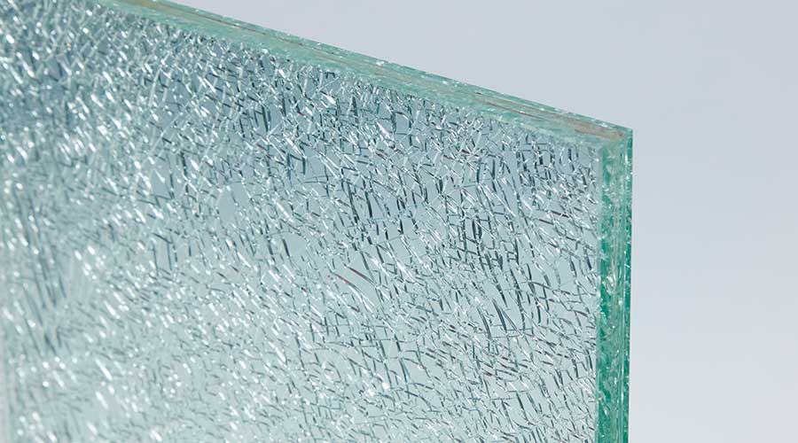 shattered laminated glass example