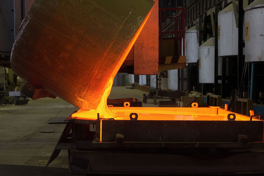 Molten glass manufacturing process